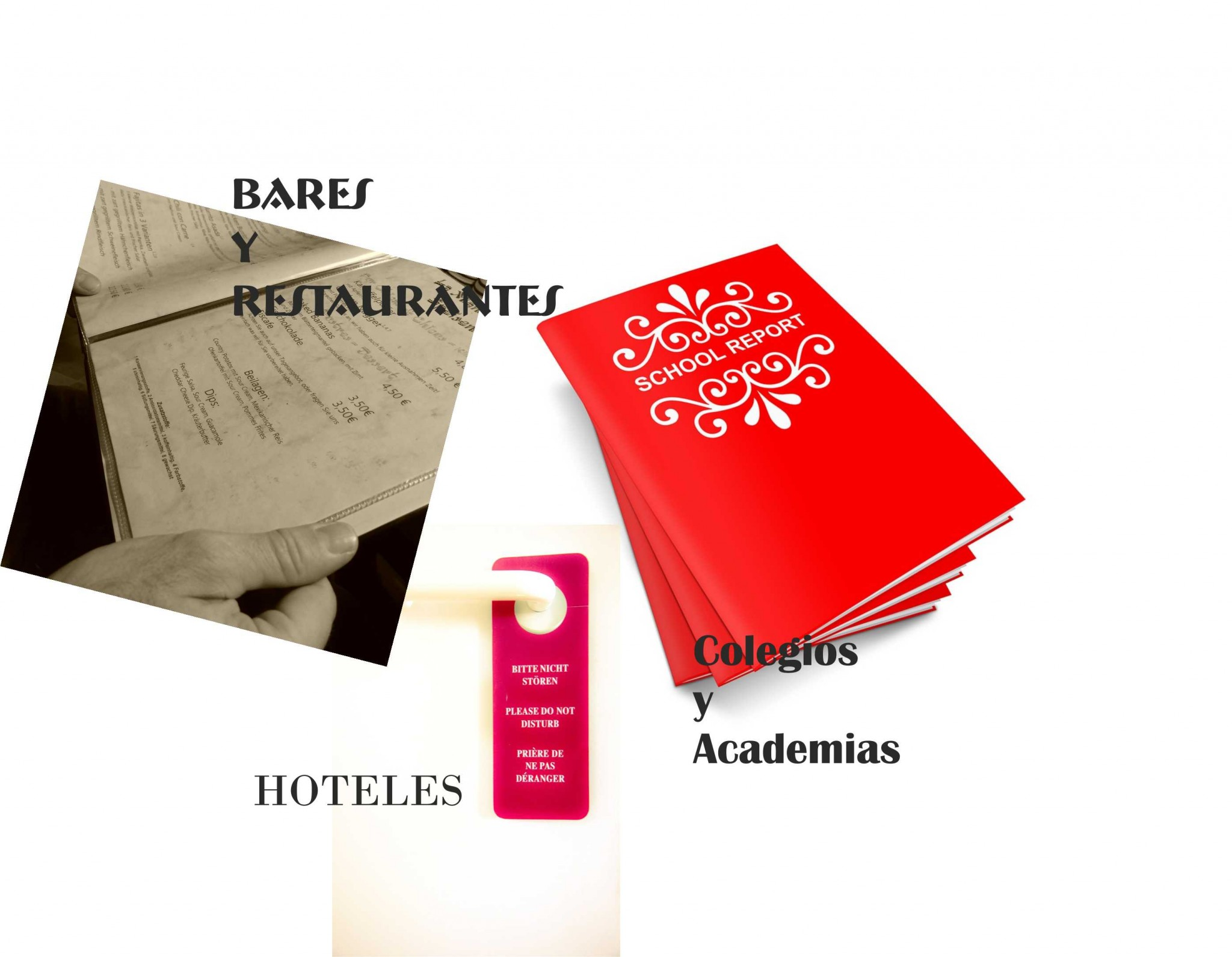 Productos específicos de su Sector